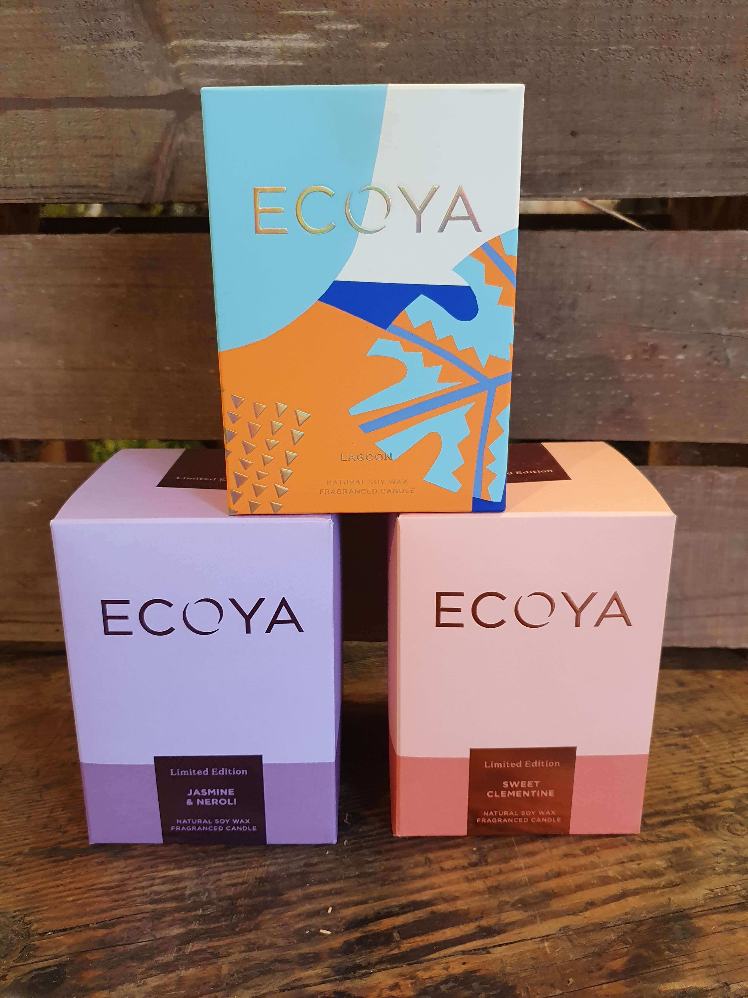 Limited Edition Ecoya Candles