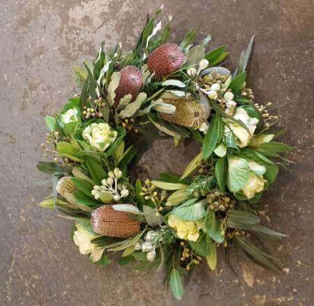 Native Wildflower Wreath