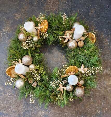 Feast For The Eyes Wreath